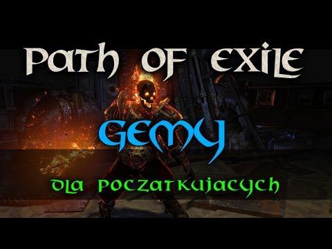 Path Of Exile  - Gemy - Poradnik Dla Początkujących PL