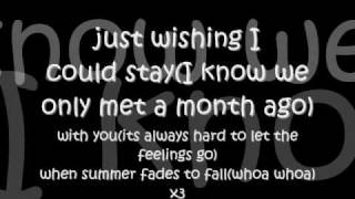 Watch Faber Drive Summer Fades To Fall video