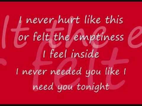 Lonestar - I Never Needed You