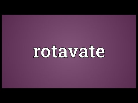 Header of rotavate