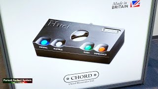 Chord Electronics NEW HUEI & NEW ULTIMA 2 & 3 Mono Amplifiers @ Munich High End Show 2019