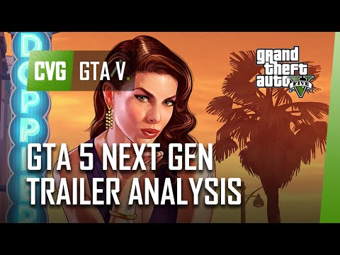 GTA 5 Next-Gen Release Date Trailer Analysis - PC, PS4 & Xbox One