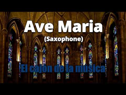 Ave Maria Schubert Instrumental Music Sax & Flute Song El Cajon de la Musica