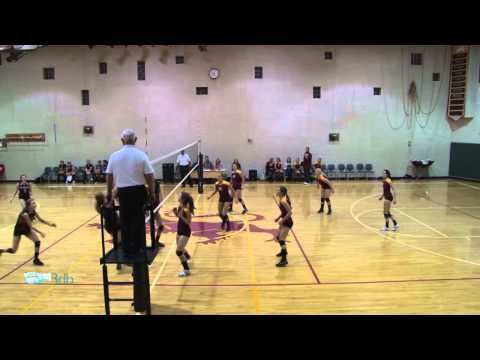 Shining Mountain Waldorf School Girls Varsity Volleyball vs. Denver Waldorf: 10/18/11 Game #3