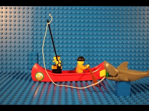 Lego shark fishing 2