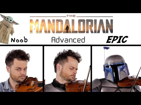 5 Levels of The Mandalorian Theme: Noob to Epic