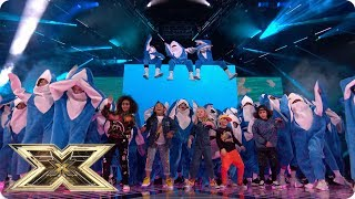 Baby Shark on the X Factor Final | Final | The X Factor UK 2018