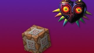 Majoras Mask Re-made! | A One Command Block Creation