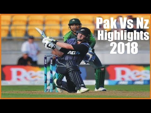 Pak Vs Nz  2018 | 1st T20I |Pakistan Vs New Zealand  Highlights | PCB || Today Cricket News
