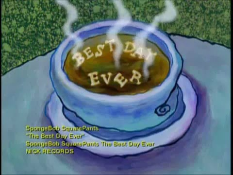 Spongebob Best Day Ever CD Music Video Viacom