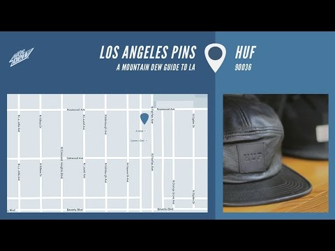 Los Angeles Pins - HUF