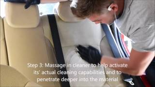 How to Shampoo car seats in 5 minutes