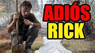 RICK DEJA LA SERIE Y SUS NOTICIAS - The Walking Dead Temporada 9