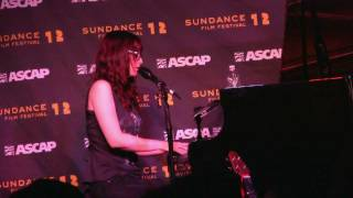 "Ingrid Michaelson- ""Ghost"" (720p HD) Live at Sundance on January 26, 2012"