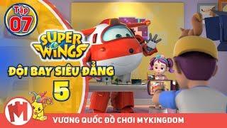 ĐỘI BAY SIÊU ĐẲNG - Phần 5   Tập 7 : Thảm họa kênh trực tuyến - Phim hoạt hình Super Wings