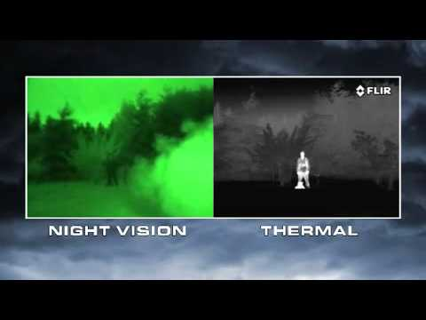 Night Vision Versus Thermal Imaging Youtube