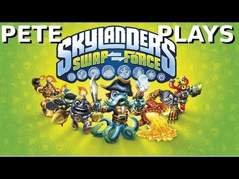 Pete Plays: Skylanders Swap Force (XBOX