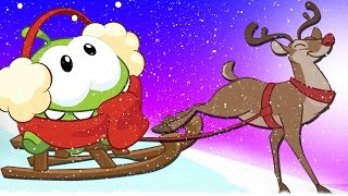 Christmas Special | Om Nom Stories : ICE CAVES | Christmas Cartoons | Om Nom Hindi