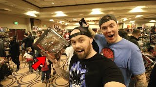 TOY HUNTING AT THE SUPER OHIO TOY SHOW! STORM COLLECTIBLES, NEW MARVEL LEGENDS!!