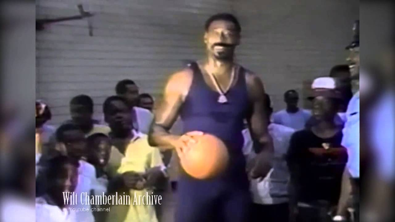 Wilt Chamberlain at 50...