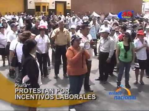 Video: Sector Salud marcha por incentivos salariales