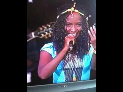 Eritrea - Shingrwa 2010 winner Arafat Hamid Performing on Stage 1st Song