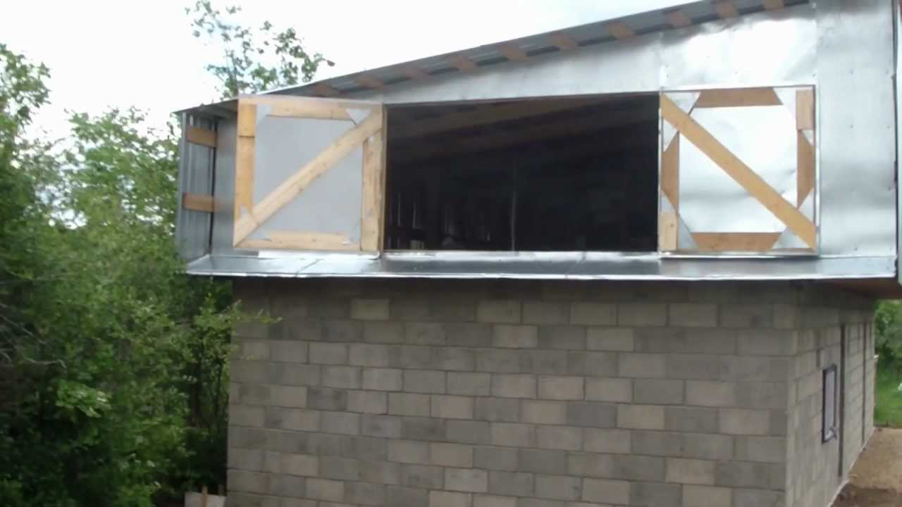 How to build a shed / Как построить сарай TravelBook.TV