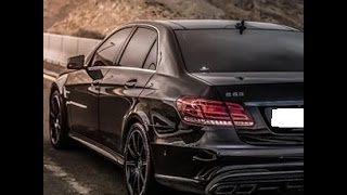 cruise with the new mercedes E63AMG w213