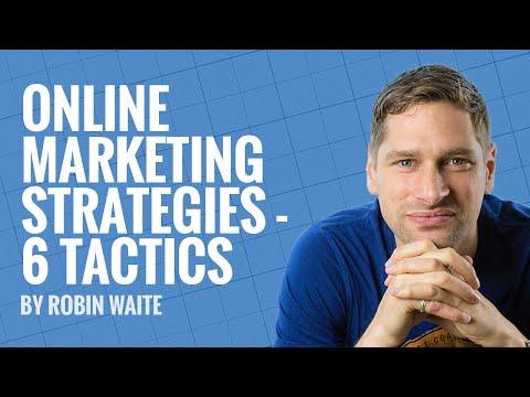 Online Marketing Strategies - 6 Tactics To Grow Your Business Online