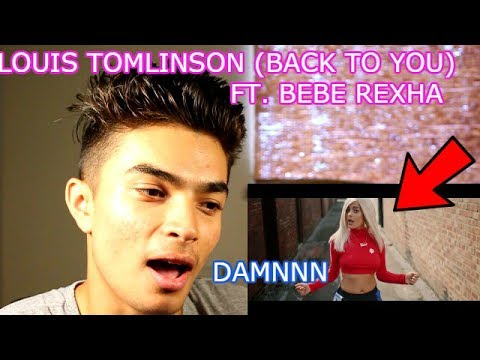 BeBe Rexha SEXY AF-Louis tomlinson Back To You ( OFFICIAL MUSIC Audio) Reaction