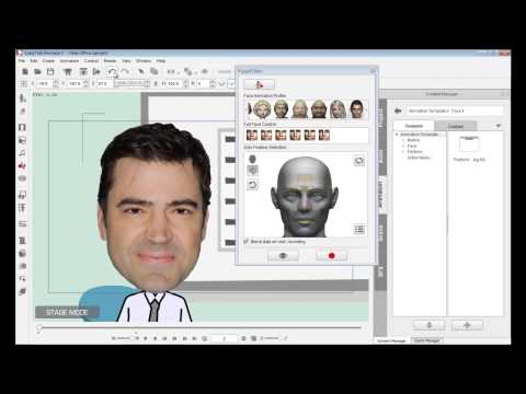 CrazyTalk Animator 2 Tutorial - Face - Basic Facial Puppeteering