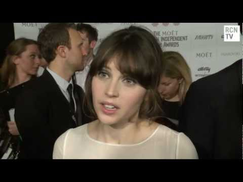 Felicity Jones Interview The Invisible Woman