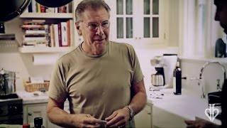 Harrison Ford Finds Card in Orange: Real or Magic   David Blaine