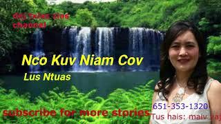 Nco Kuv Niam Cov Lus Ntuas.   2/18/2018