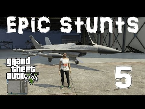 GTA 5 Ultimate stunt show 5 Montage HD