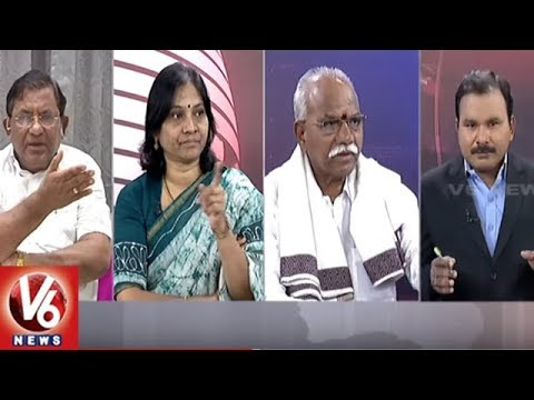 Special Debate On Karnataka Government Formation 2018 | Good Morning Telangana | V6 News