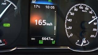2018 Toyota Yaris 1,5 L Hybrid 0-100 kmh kph 0-60 mph Tachovideo Beschleunigung Acceleration