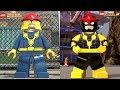 Lego Marvel Superheroes 1 VS Lego Marvel Superheroes 2 (Tous les personnages côte à côte)