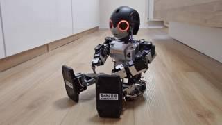 ROBO TOYS   ROBI 2.0 - HUMANOIDER ROBOTER - KÜNSTLICHE INTELLIGENZ