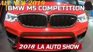 2019 BMW M5 Competition Exterior Walkround - 2018 LA Auto Show