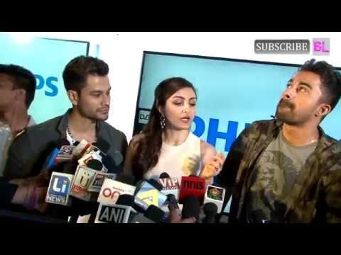 Soha Ali Khan, Kunal Khemu & Rannvijay Singh   at the Launch Latest Range of Philips TV   Part 5