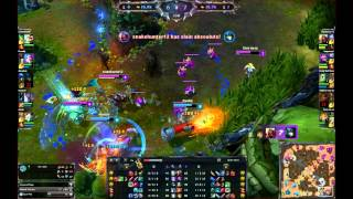07/06/2014 Bot Lane Concepts - Advantages and Applying Pressure (Jinx POV)