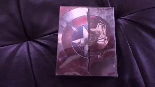 Présentation steelbook Captain America Civil War (Fnac exclusive)