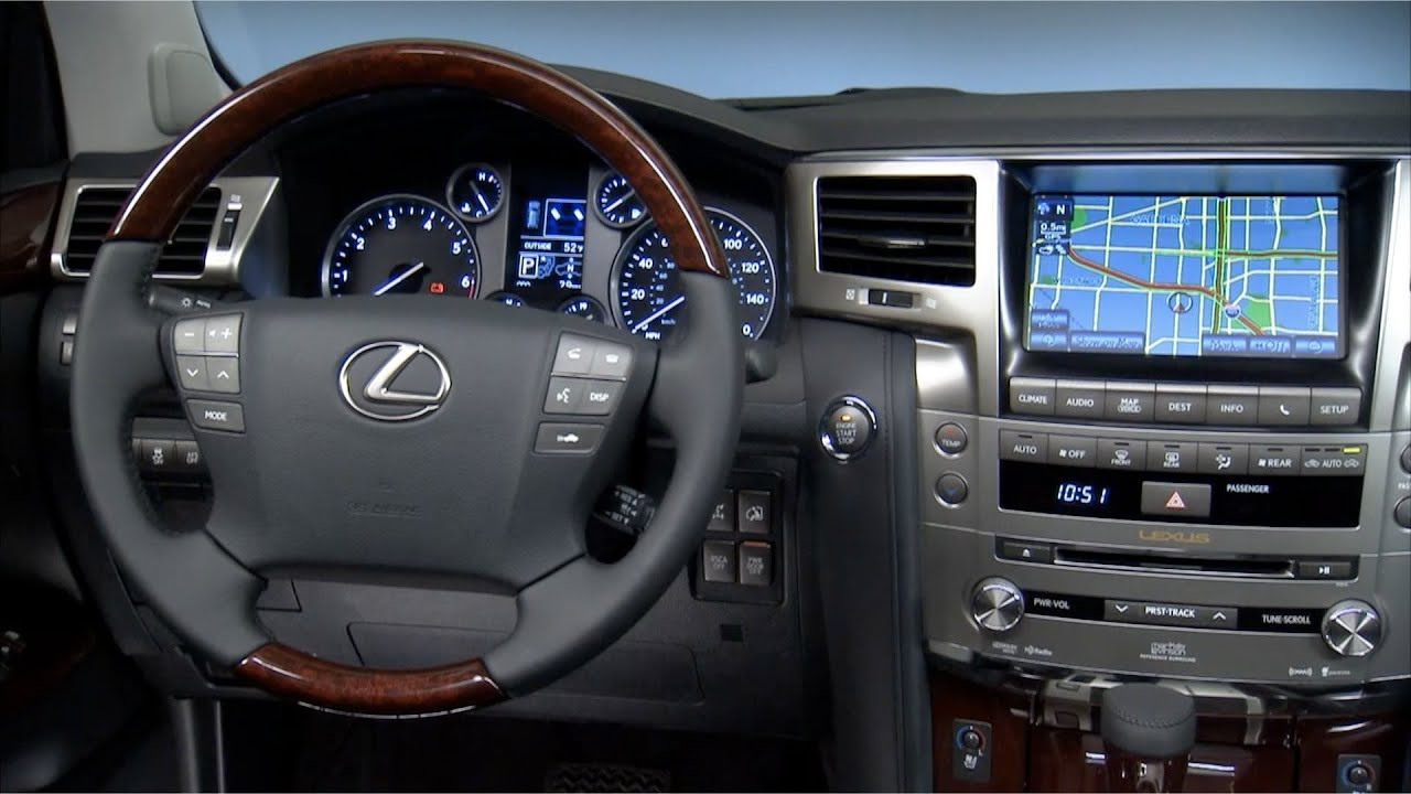 2014 Lexus Lx 570 Interior Youtube