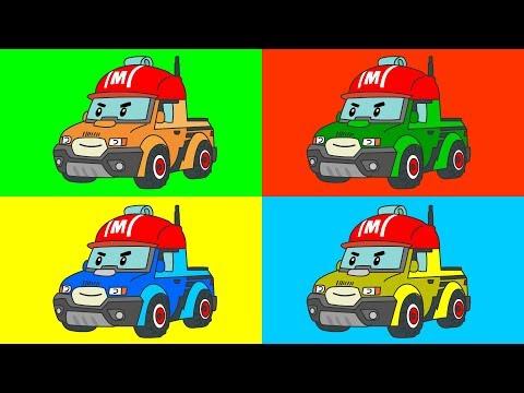 Мультики пожарная машина раскраска 60