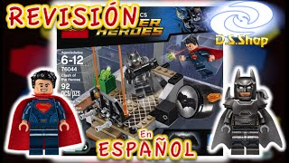 LEGO Batman vs Super CHOQUE DE HÉROES Set 76044 Toy Unboxing Speed Build an Review de Juguetes