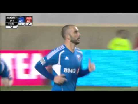 GOAL: Marco Di Vaio scores to halve NY lead | New York Red Bulls vs Montreal Impact