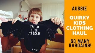 CLOTHING HAUL For Quirky Kids #1 #haul