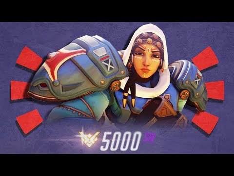 Overwatch - The #1 Console Player is a PHARAH (5000 SR)