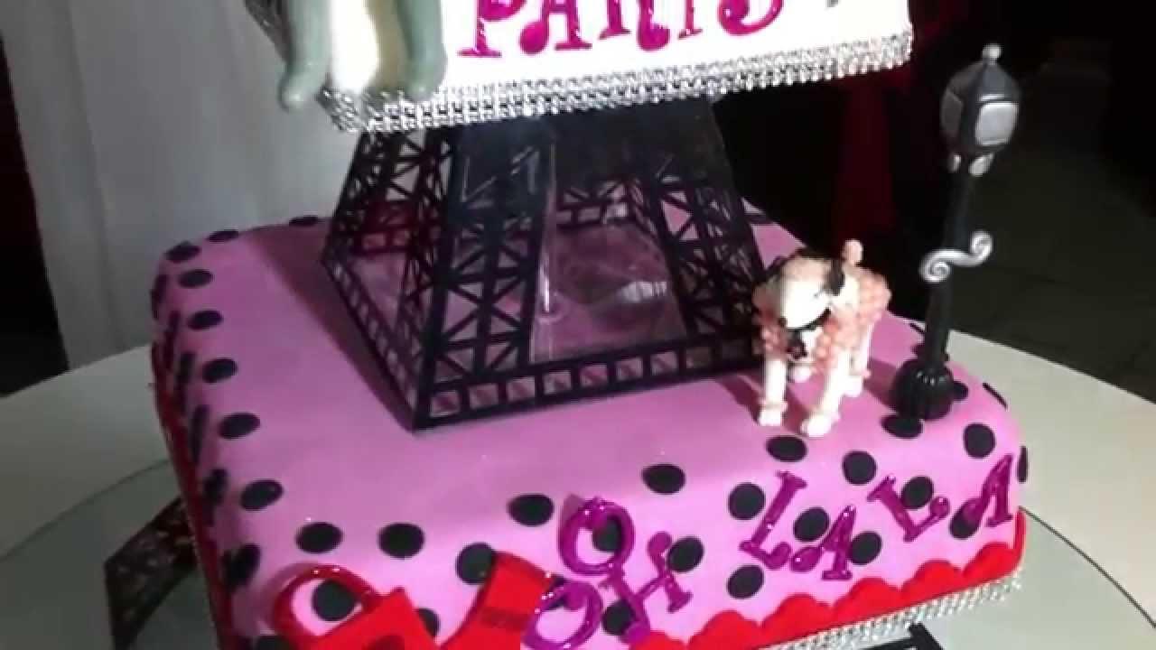 Paris Cake Ideas